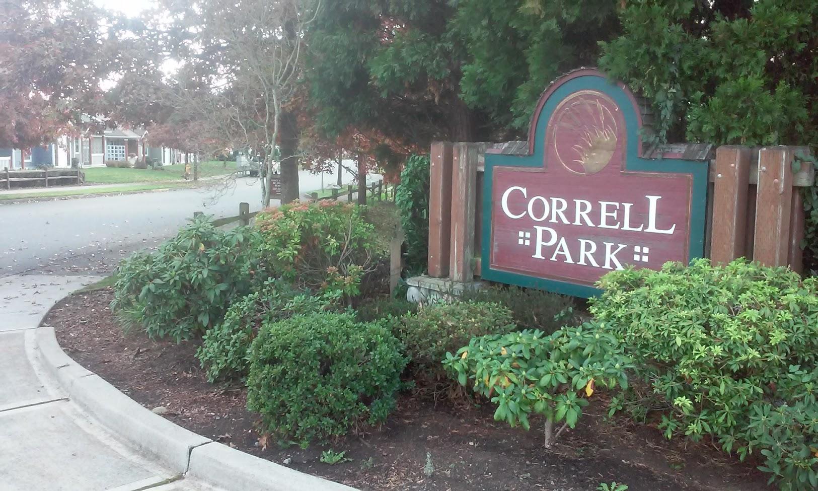 Correll Park Homeowners Association HOA