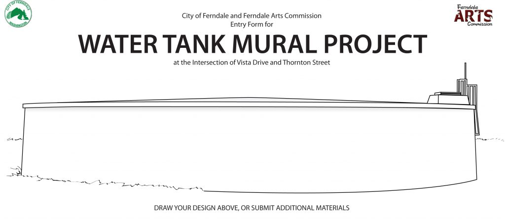 Water Tank Mural Coloring Page