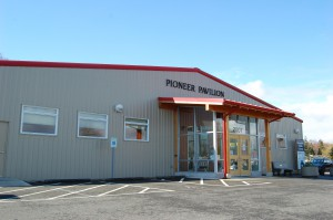 Pioneer Pavilion at Pioneer Park